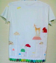 キノコの森と仲間たちTシャツ♪
